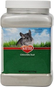 chinchillas dust
