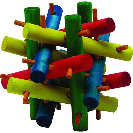 Kaytee Nut Knot Knibbler Wooden Toy for chinchilla