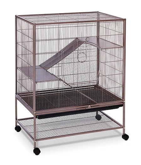 Prevue Hendryx Earthtone Dusted Rose Chinchilla Cage