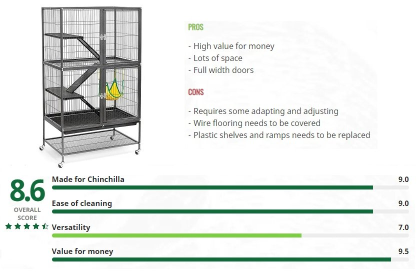 chinchilla cage