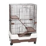 Homey Pet Three-Tier Chinchilla Crate